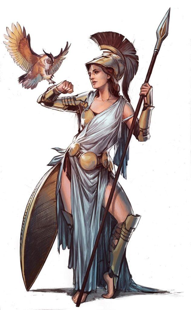 La Diosa Atenea