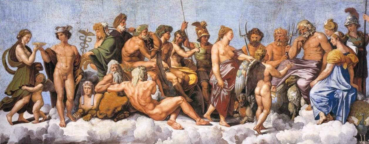 los hermanos del dios Zeus