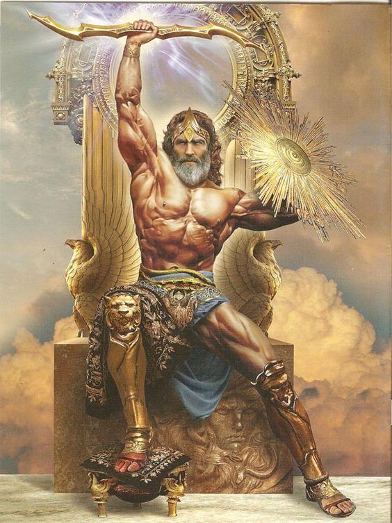 Cual es la equivalencia del dios Zeus?