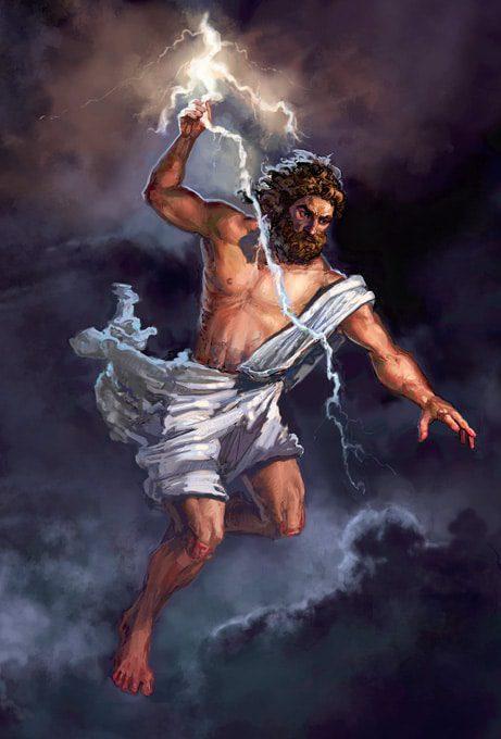 historia del dios Zeus