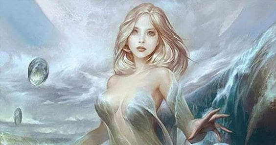 Cual fue la ninfa que tuvo un hijo con Poseidón