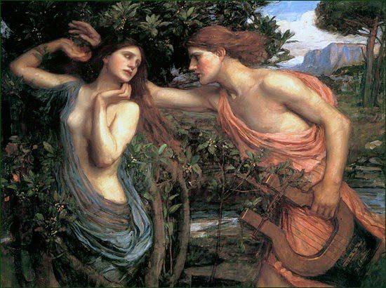cual ninfa amaba Apolo