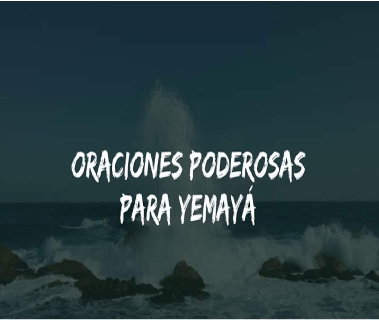Oración a Yemayá