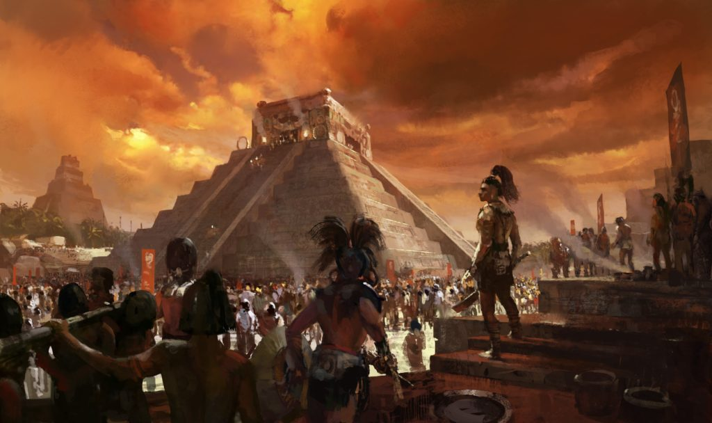 Origen del universo según los Mayas