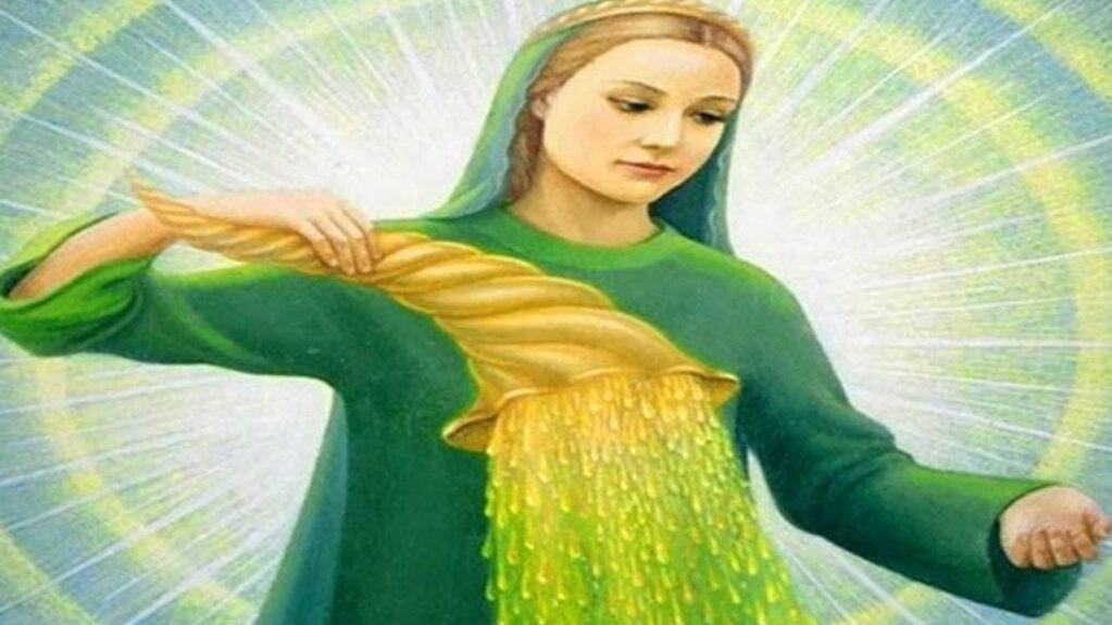 ángel de la abundancia